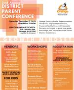 2nd Annual District Parent Conference (Click on image below).